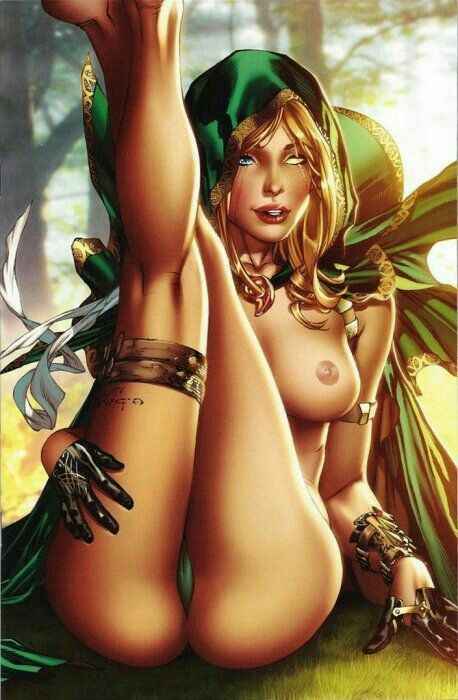 fairy tale a for the demon lord Embarrassed nude female in public