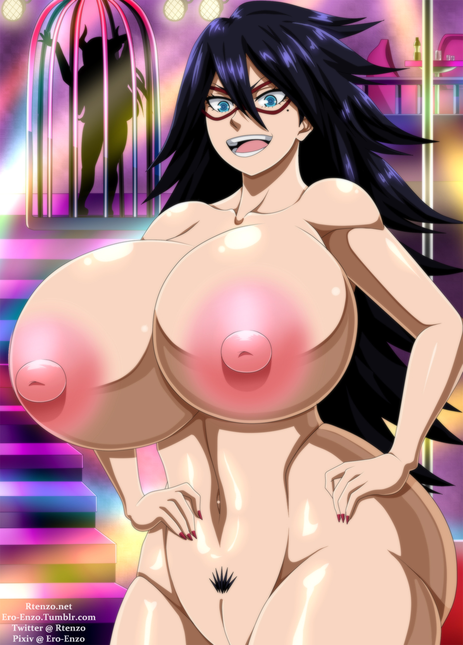 nude academia hero girls my The leather club's two blocks down