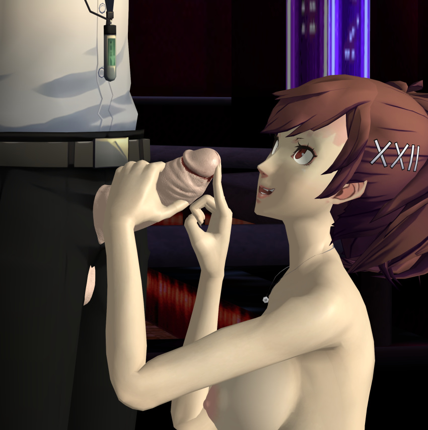 makoto 5 persona King of the hill naked
