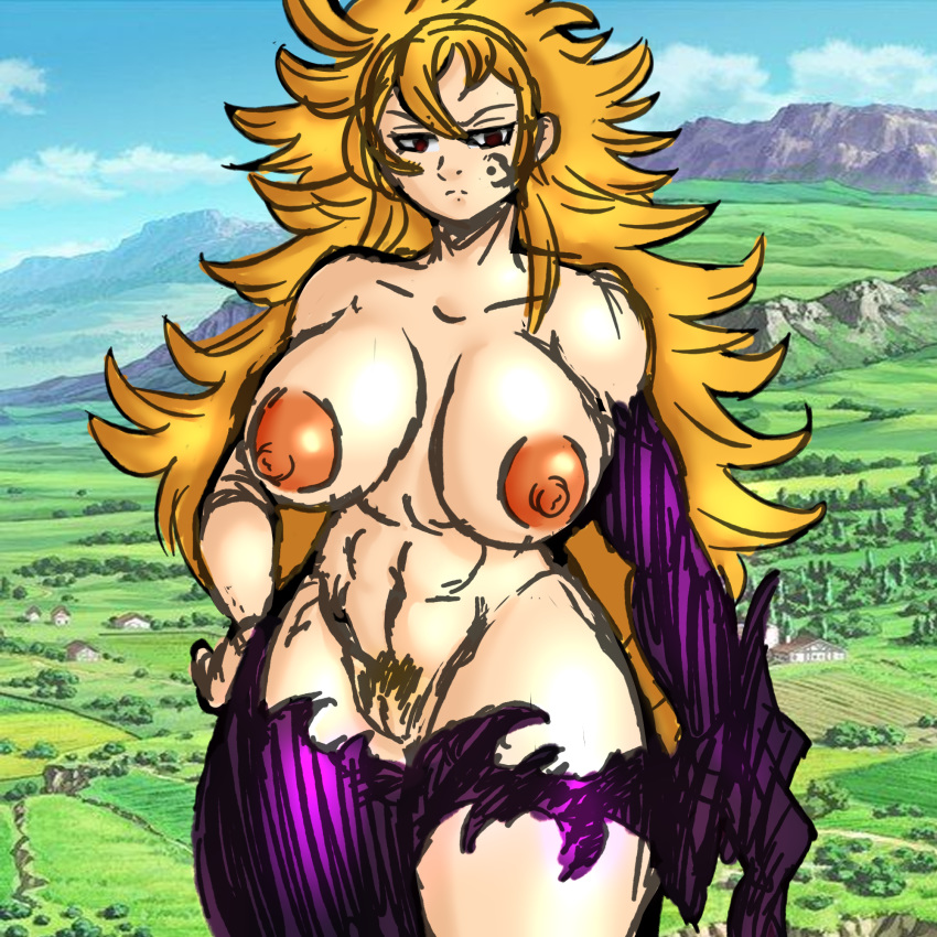nude deadly seven sins the One piece ivankov female hormone
