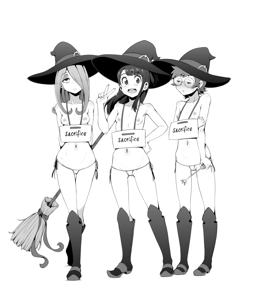 sucy witch little academia hentai Vash the stampede and knives