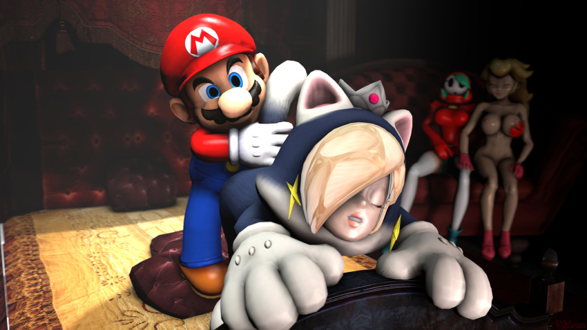 galaxy rosalina mario super from A sex goblin with a carnival penis