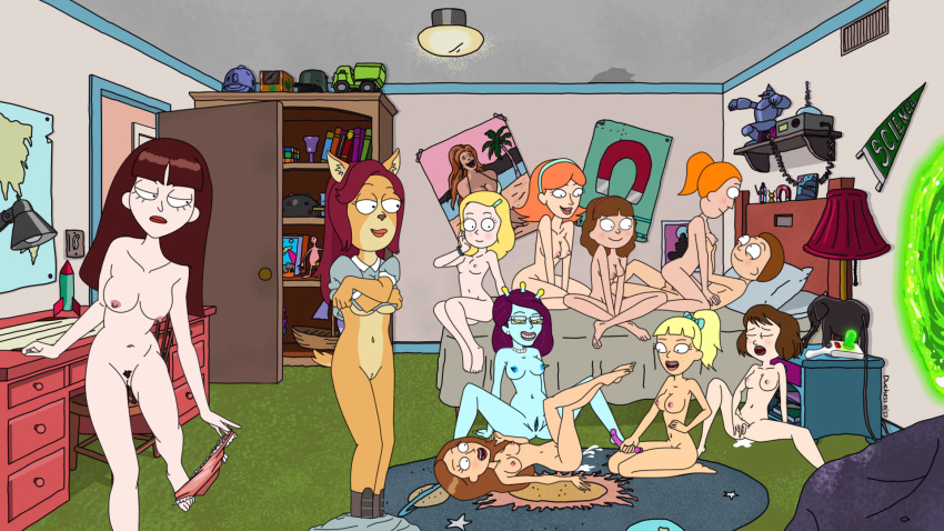 highschool issei and dxd xenovia Summer rick and morty naked